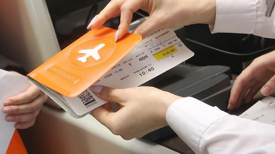 Покупка билета на самолет в аэропорту