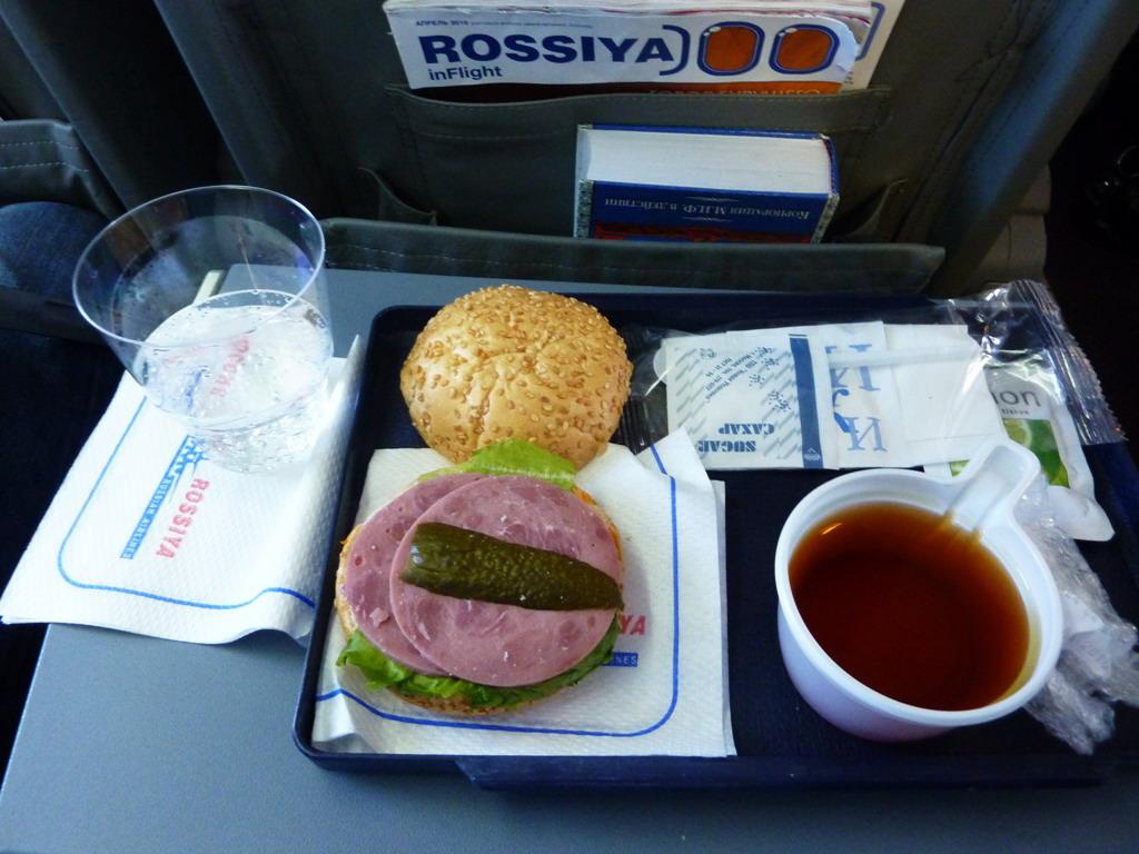Есть ли питание в самолетах победа